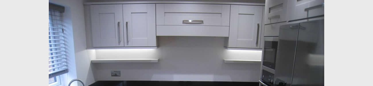 Stone Grey Shaker Kitchen in Leicester